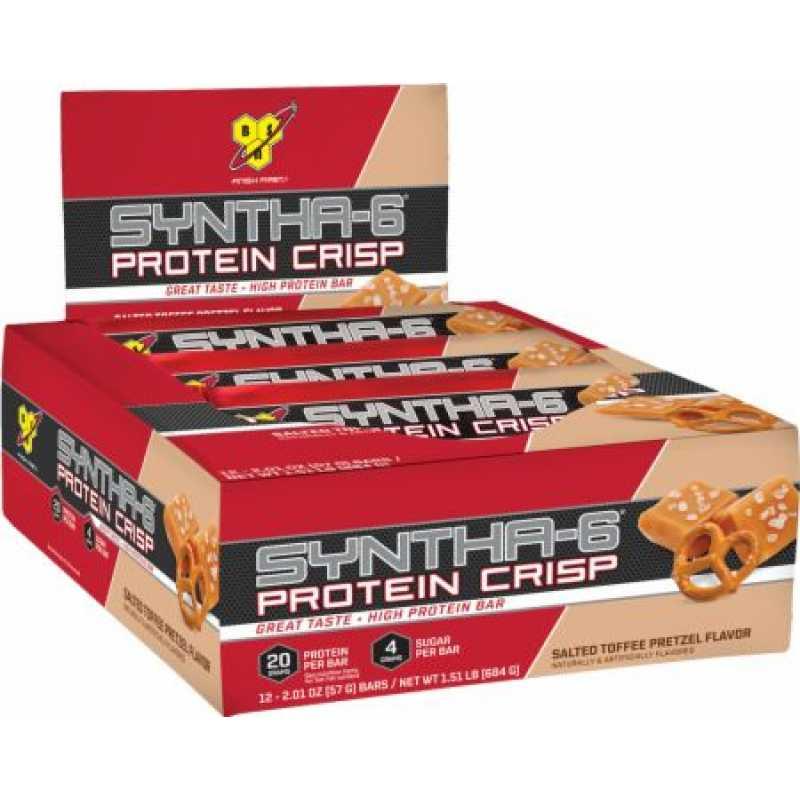 BSN Syntha-6 Protein Crisp - 12 Bars