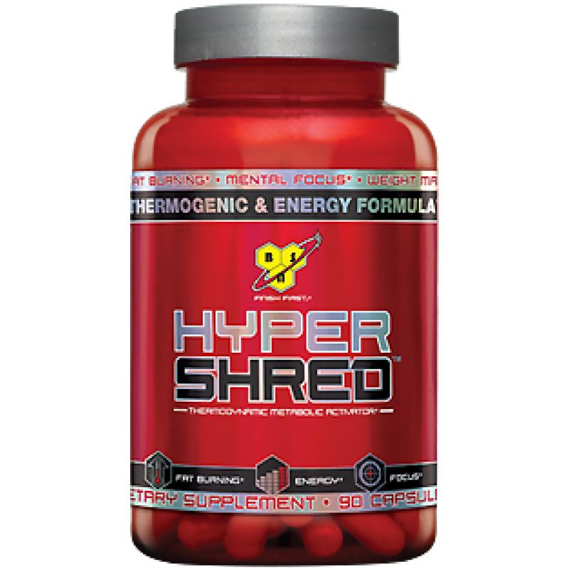 BSN Hyper Shred 脂肪燃烧 - 90粒
