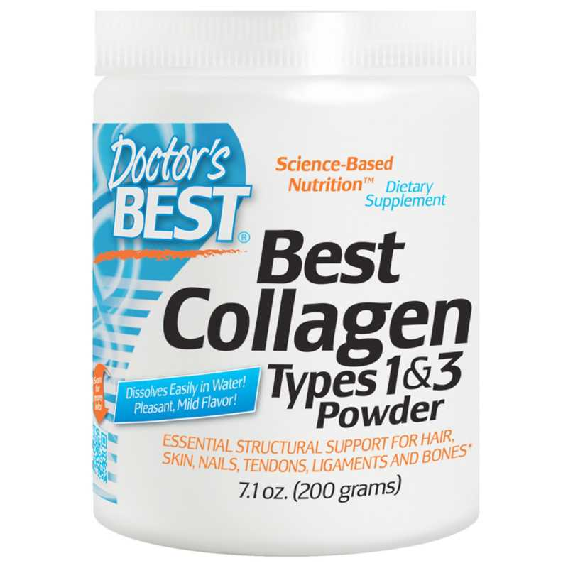 Doctor's Best Collagen Types 1&3 Powder - 200 g