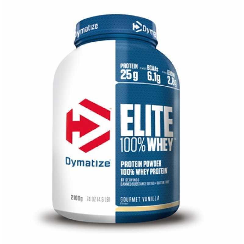 Dymatize Nutrition Elite 100% Whey 乳清蛋白粉 - 5磅