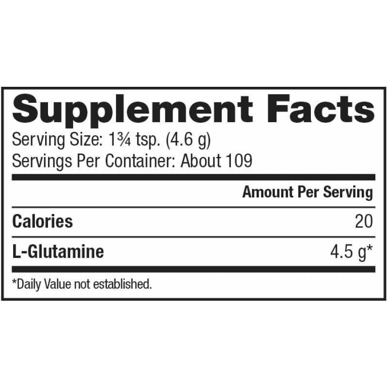 Dymatize Nutrition Glutamine 谷氨酰胺 - 500克