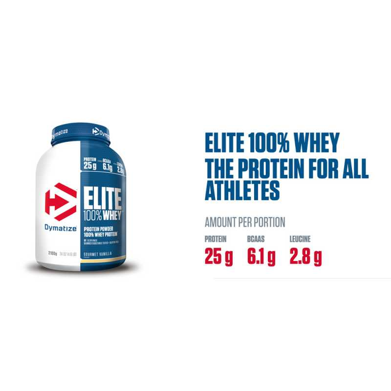Dymatize Nutrition Elite 100% Whey - 5lbs