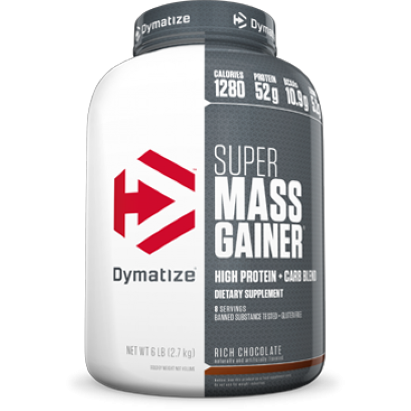 Dymatize Nutrition Super Mass 狄馬泰斯超級增重粉 - 6磅