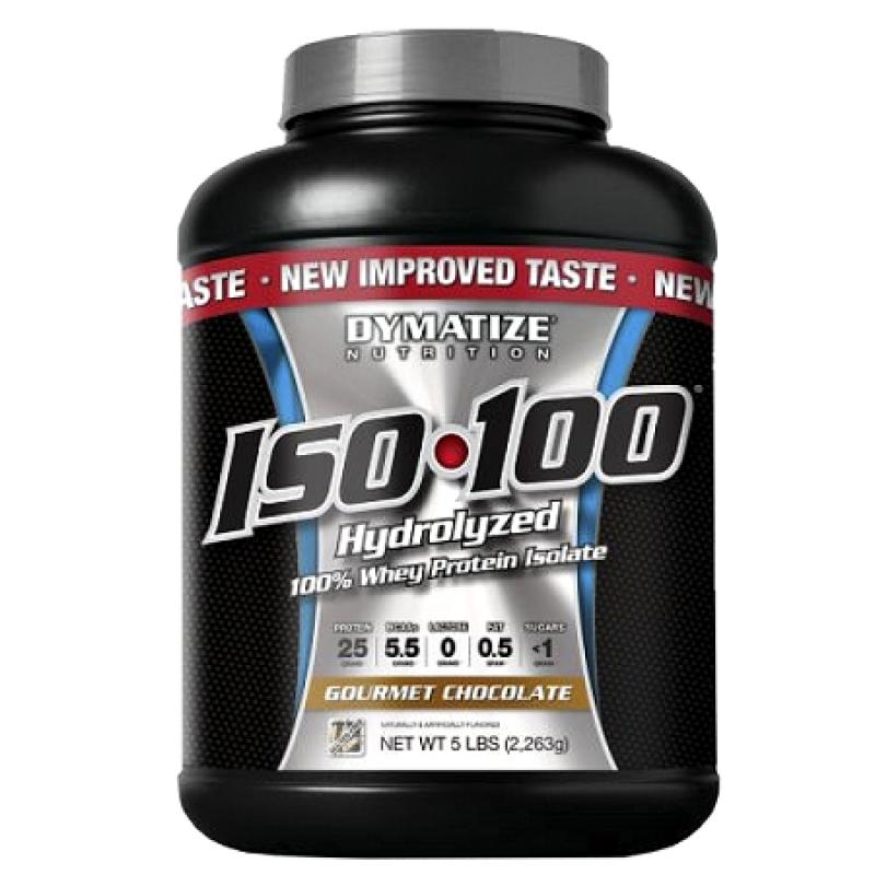 Dymatize Nutrition ISO-100 分离乳清蛋白粉 - 5磅
