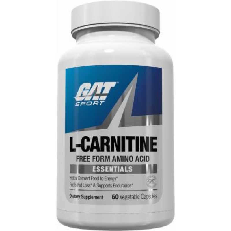 GAT L-Carnitine - 60 Vegetable Capsules