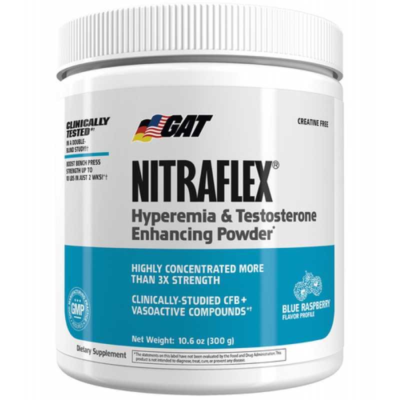 GAT Nitraflex 睾酮氮泵 - 30份