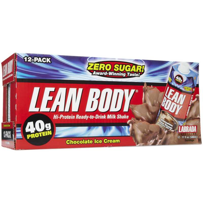 Labrada Nutrition Lean Body RTD 高蛋白运动饮料 - 500毫升