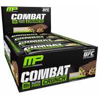 MusclePharm Combat Crunch 蛋白棒 - 12条