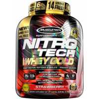 MuscleTech Nitro Tech 100% Whey Gold 100%金牌乳清蛋白粉 - 5.5磅