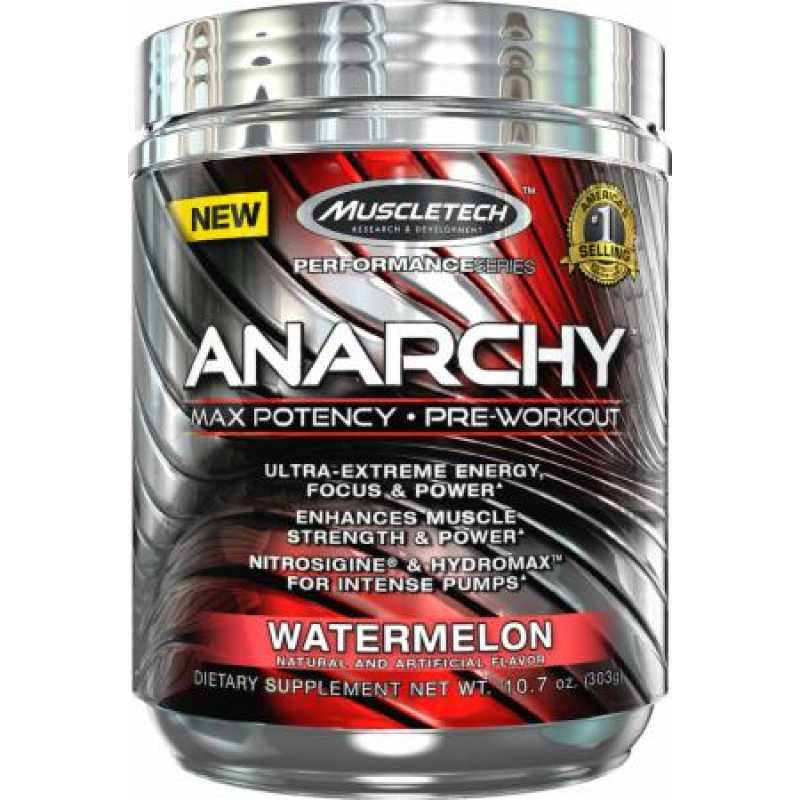MuscleTech Anarchy 白金氮泵 - 30份