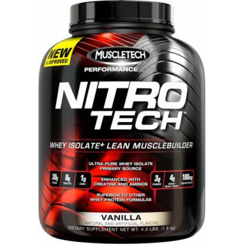 MuscleTech Nitro Tech - 4lbs