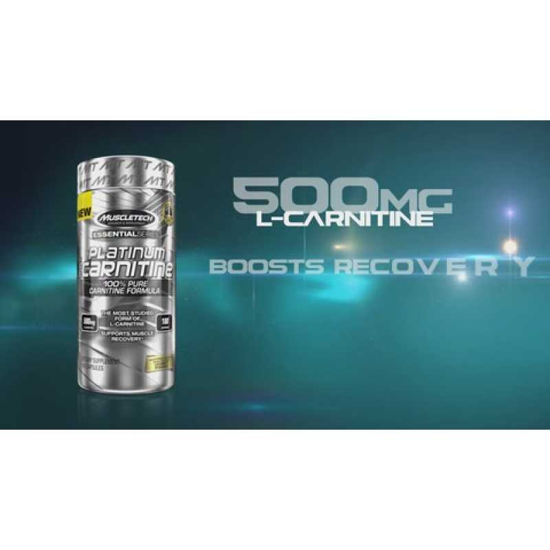 MuscleTech Platinum 100% Carnitine 白金左旋肉碱 - 180粒