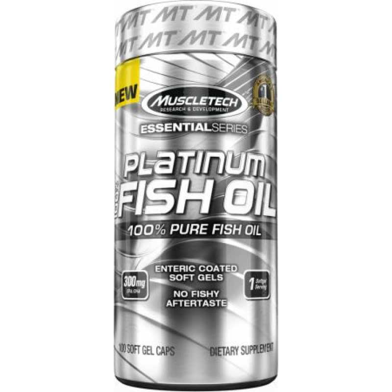 MuscleTech Platinum 100% Fish Oil 白金鱼油 - 100粒