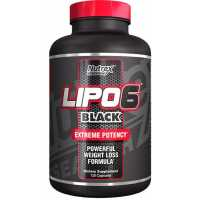 Nutrex Research Lipo-6 Black Extreme 極速減脂膠囊 - 120粒
