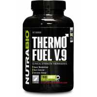 NutraBio ThermoFuel V9 for Men - 180 Vegetable Capsules