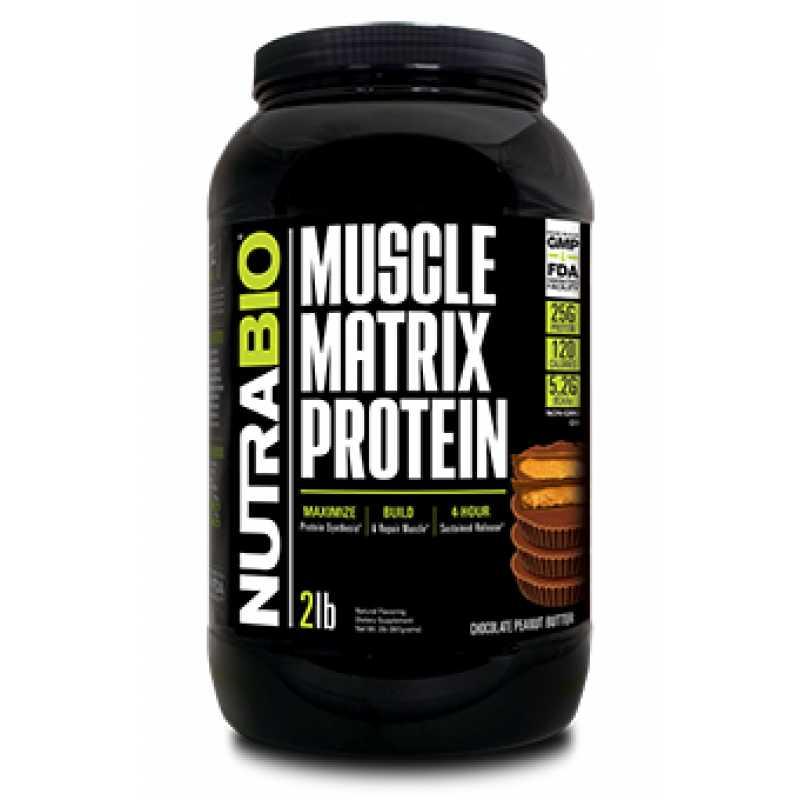 NutraBio Muscle Matrix Protein 肌肉矩阵复合蛋白 - 2磅