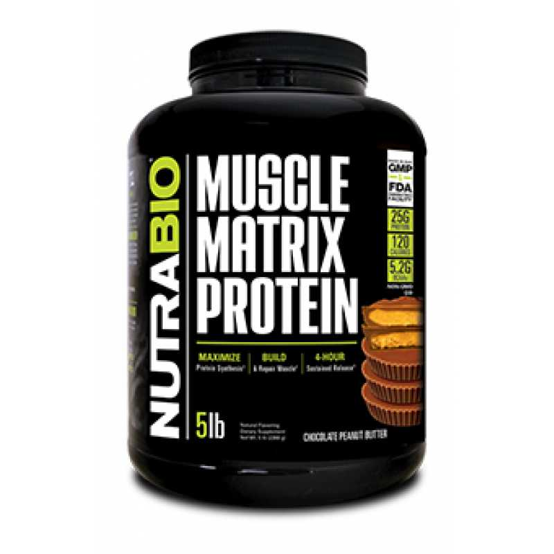 NutraBio Muscle Matrix Protein 肌肉矩陣複合蛋白 - 5磅