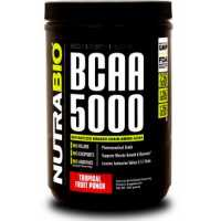 NutraBio BCAA 5000 Powder - 400g