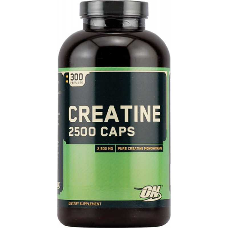 Optimum Nutrition Creatine 2500 - 300 Capsules