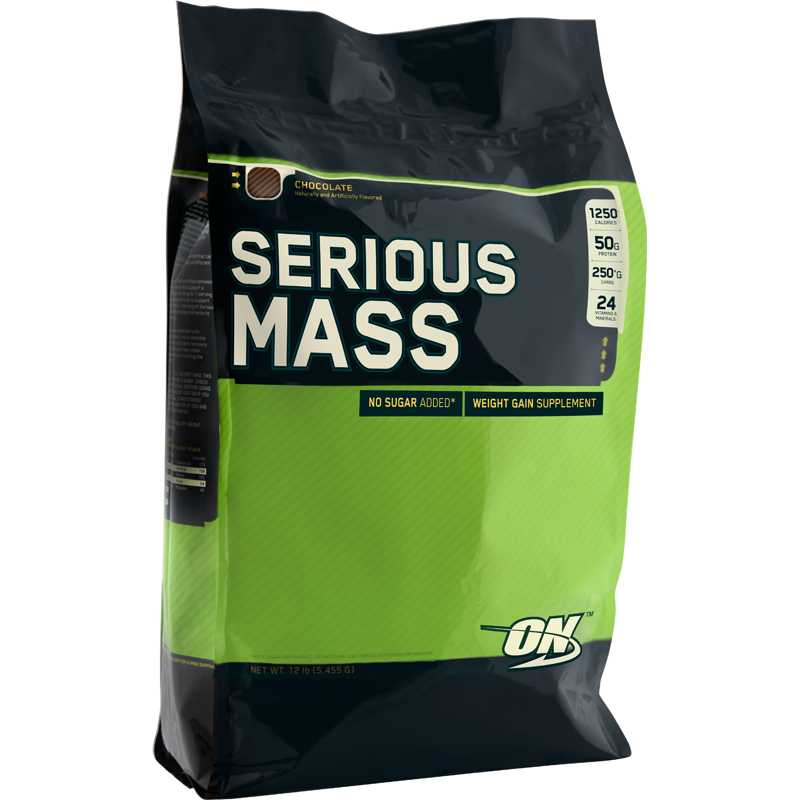 Optimum Nutrition Serious Mass 增重粉- 12磅