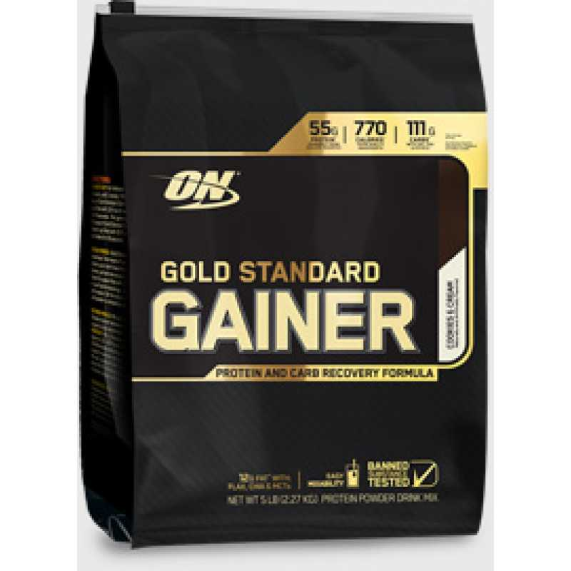 Optimum Nutrition Gold Standard Gainer 金牌增重粉 - 5磅