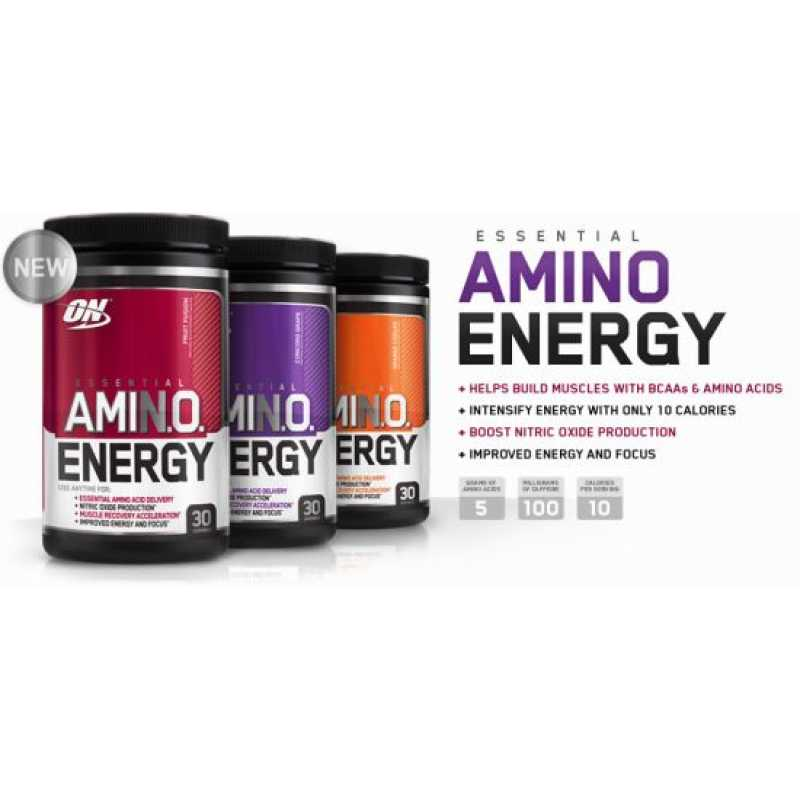 Optimum Nutrition Amino Energy - 30 Servings