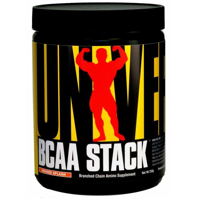 Universal Nutrition BCAA Stack 環球野獸支鏈氨基酸 - 250克