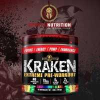 Sparta Nutrition Kraken Extreme Pre-Workout 海怪氮泵 - 40份