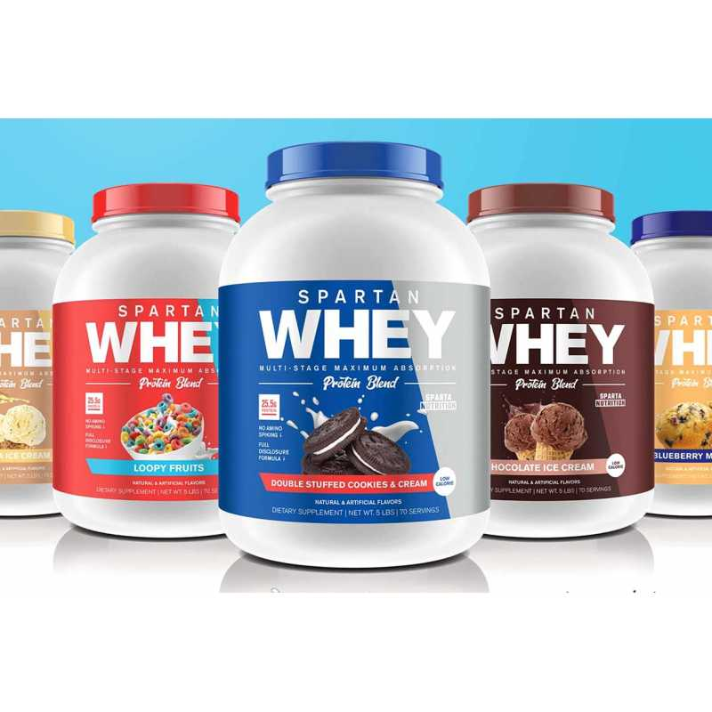 Sparta Nutrition Whey Protein Blend - 5lbs