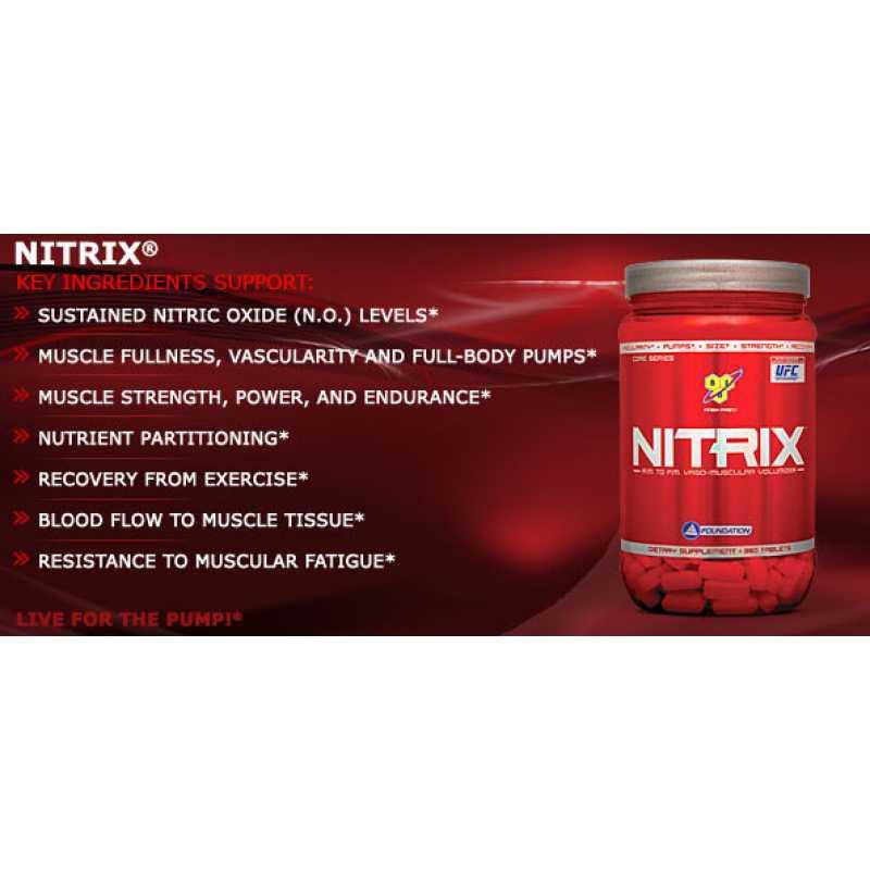 BSN Nitrix 2.0 精氨酸 - 180片