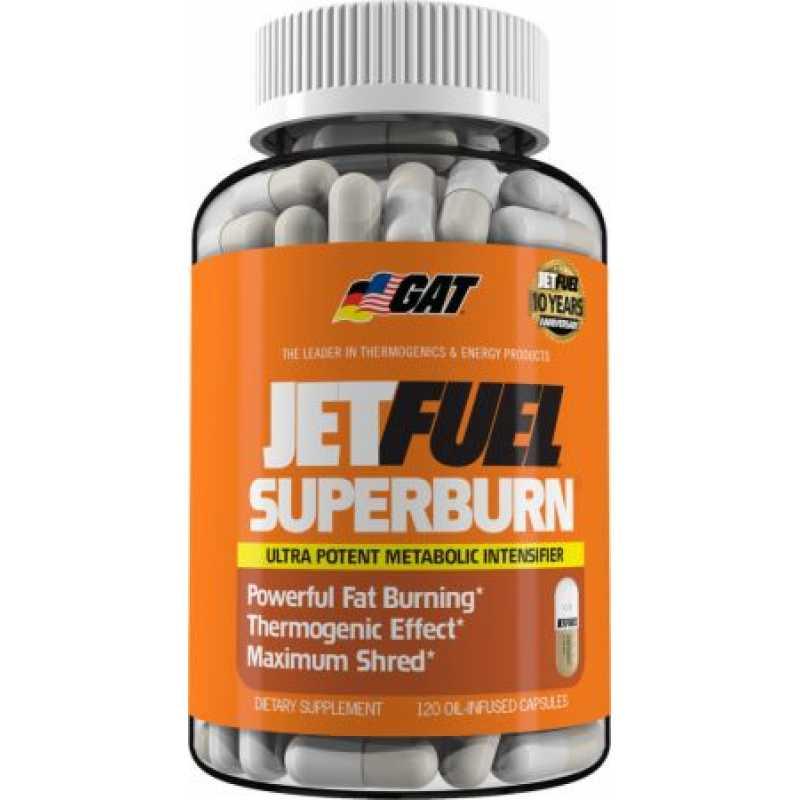 GAT JetFuel Superburn 超级燃脂 - 120粒