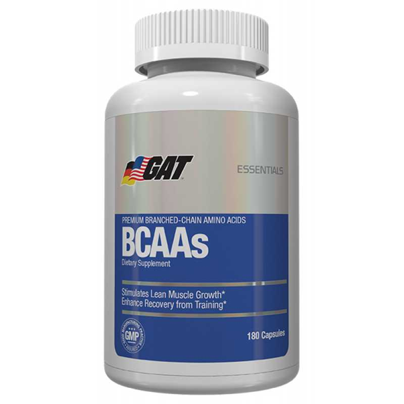 GAT BCAA's - 180 Capsules