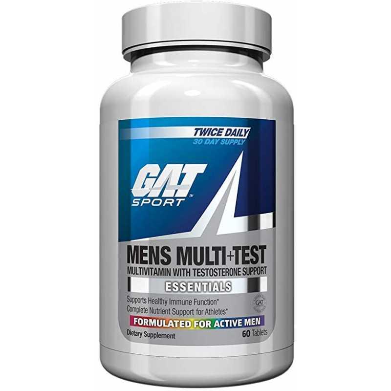 GAT Men's Multi + TEST 維生素+睾丸酮 - 60片
