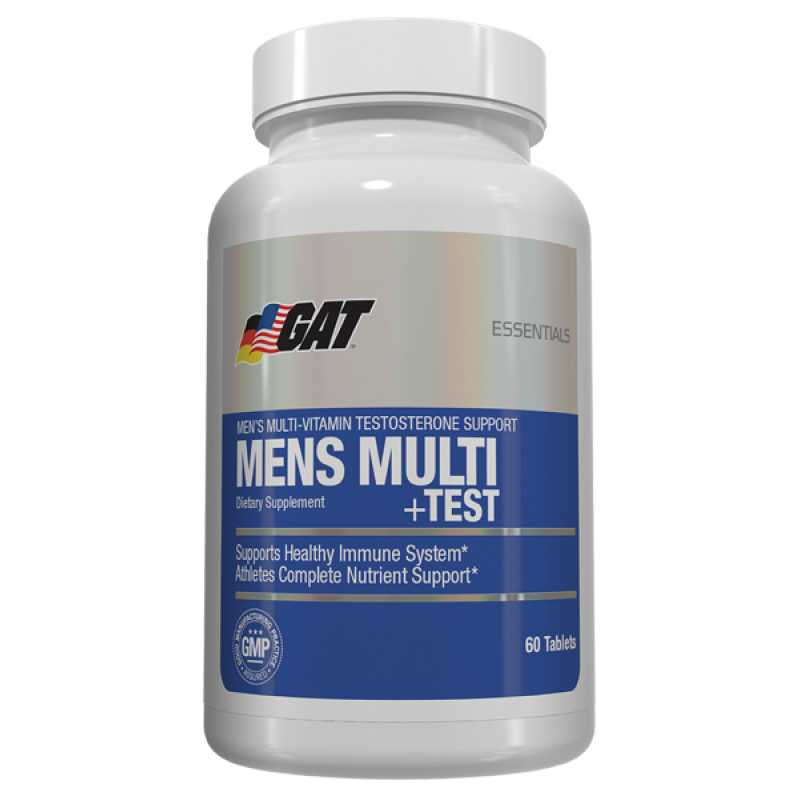 GAT Men's Multi + TEST - 60 Tablets