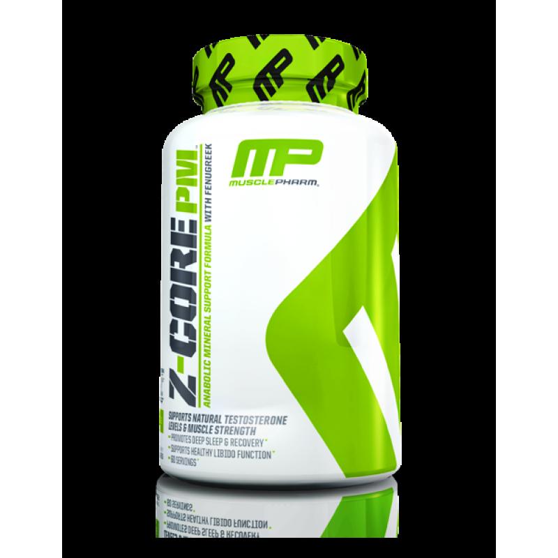 MusclePharm Z-Core P.M. 锌镁素助眠促睾 - 60粒