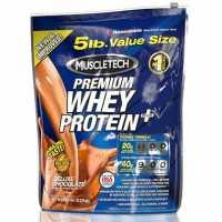 MuscleTech - Premium Whey Protein Plus 乳清蛋白粉 - 5磅
