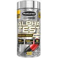 MuscleTech Alpha Test - 120 Capsules