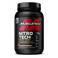 MuscleTech Nitro Tech 100% Whey Gold - 5.5lbs