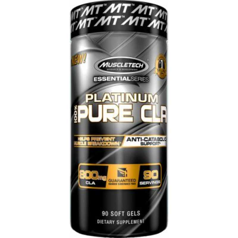 MuscleTech Platinum Pure CLA 共轭亚油酸 - 90粒