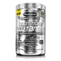 MuscleTech Platinum Glutamine 肌肉科技白金谷氨酰胺 - 60份