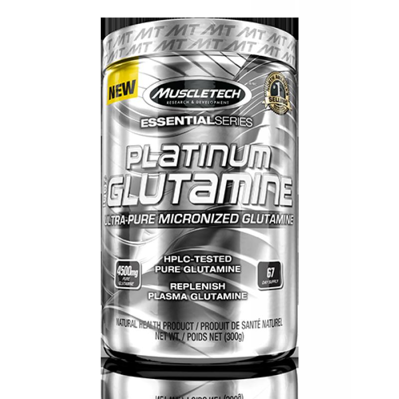 MuscleTech Platinum Glutamine 肌肉科技白金谷氨酰胺 - 60份