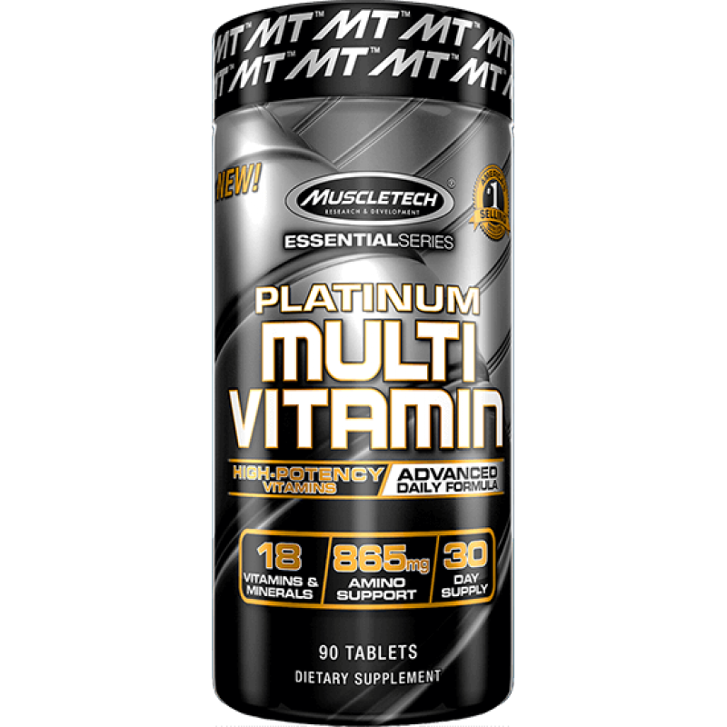 MuscleTech Platinum MultiVitamin 白金复合维生素 - 90粒