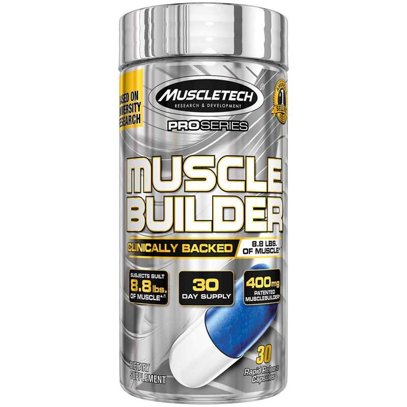 MuscleTech Muscle Builder 肌肉生长素- 30 粒