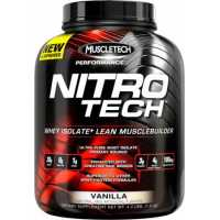 MuscleTech Nitro Tech 正氮增肌蛋白粉 - 4磅