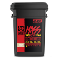 Mutant Mass XXXTREME 2500 至尊极限增重粉 - 22磅