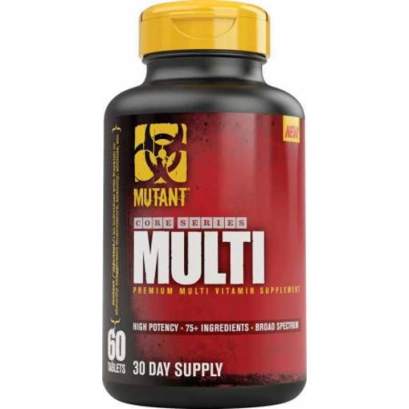 Mutant  Multi 综合维生素 - 60粒