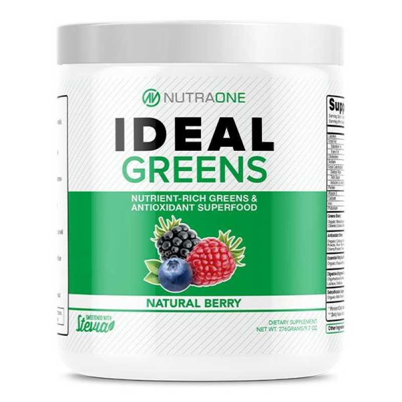 Nutraone Ideal Greens 綠色超級食物混合 - 30份