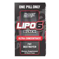 Nutrex Research Lipo 6 Black Ultra Concentrate - 60 Capsules