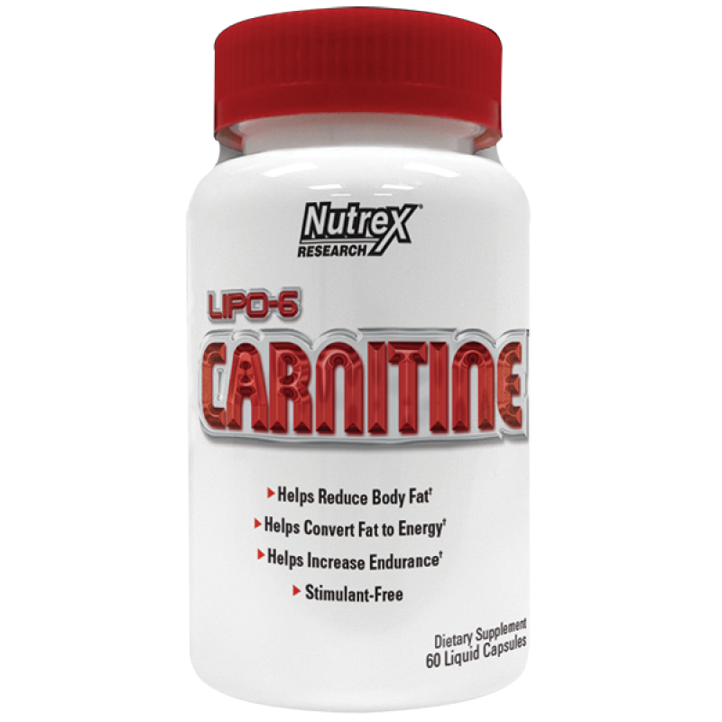 Nutrex Lipo6 Carnitine 左旋肉鹼 - 60粒