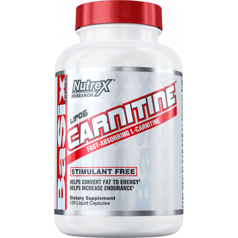 Nutrex Research Lipo6 Carnitine 左旋肉鹼 - 120粒液體膠囊